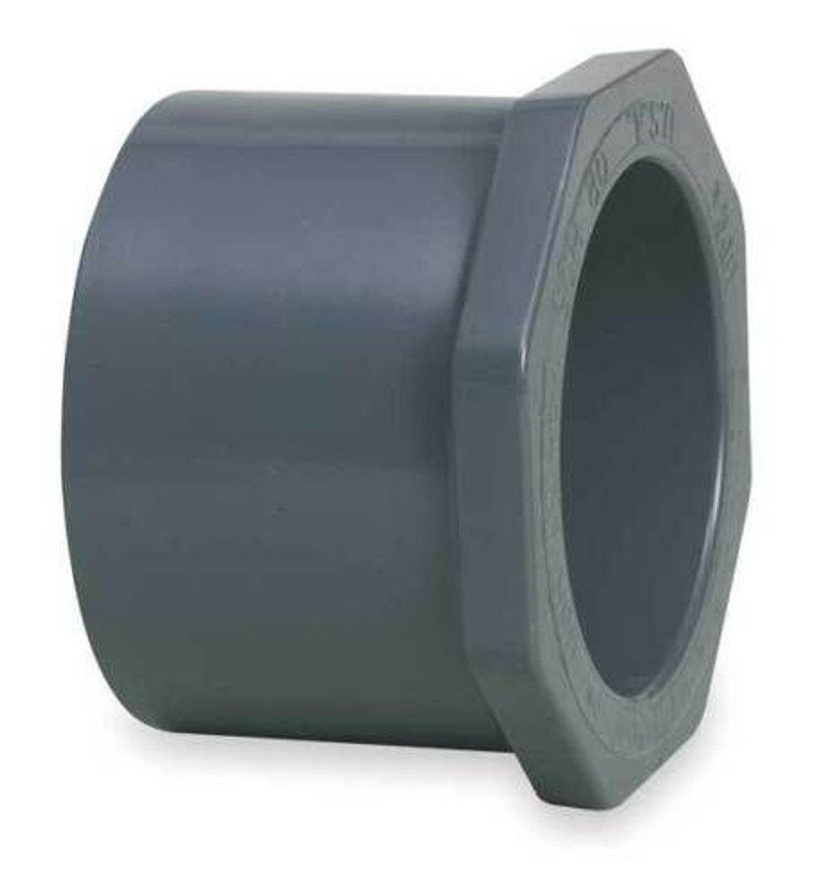 "+GF+ | 1-1/4"" x 1/2"" Reducer Bushing Flush Style"