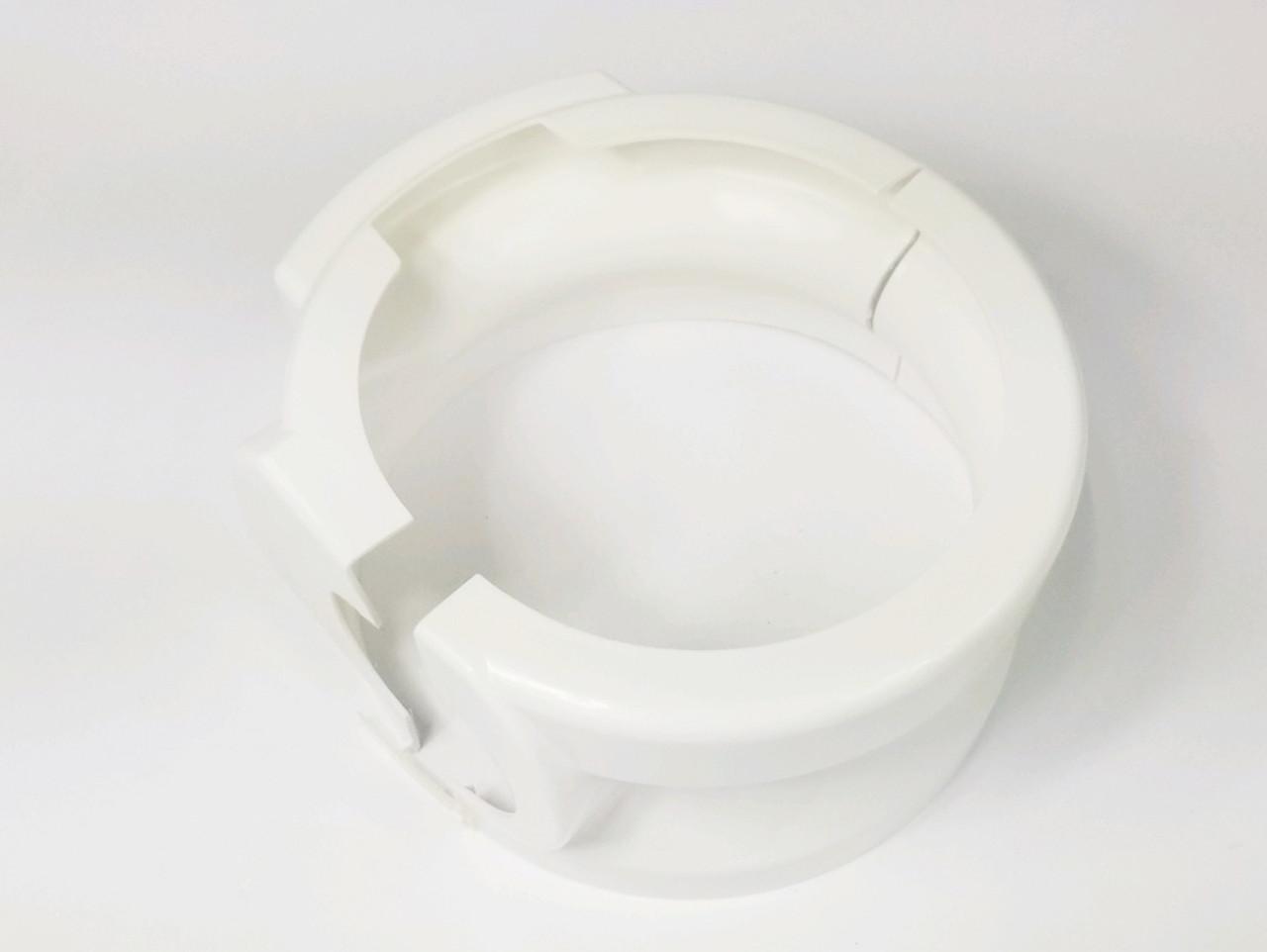 Short pedestal cover white