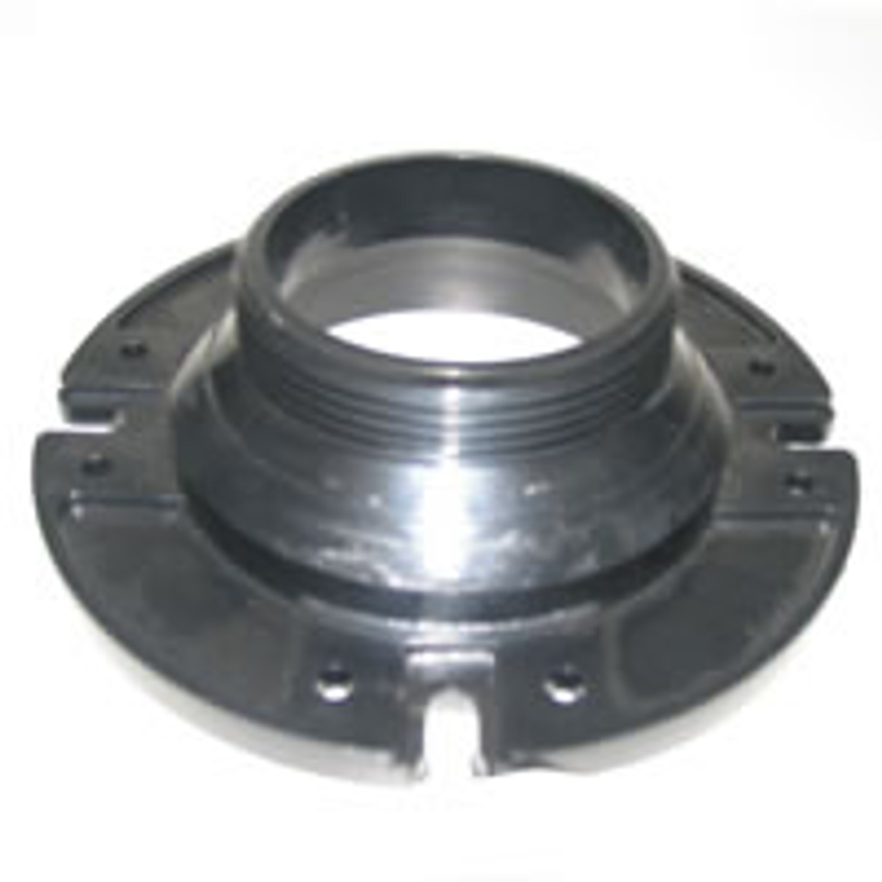 "Toilet mounting floor flange, 3"" Male Pipe Thread."