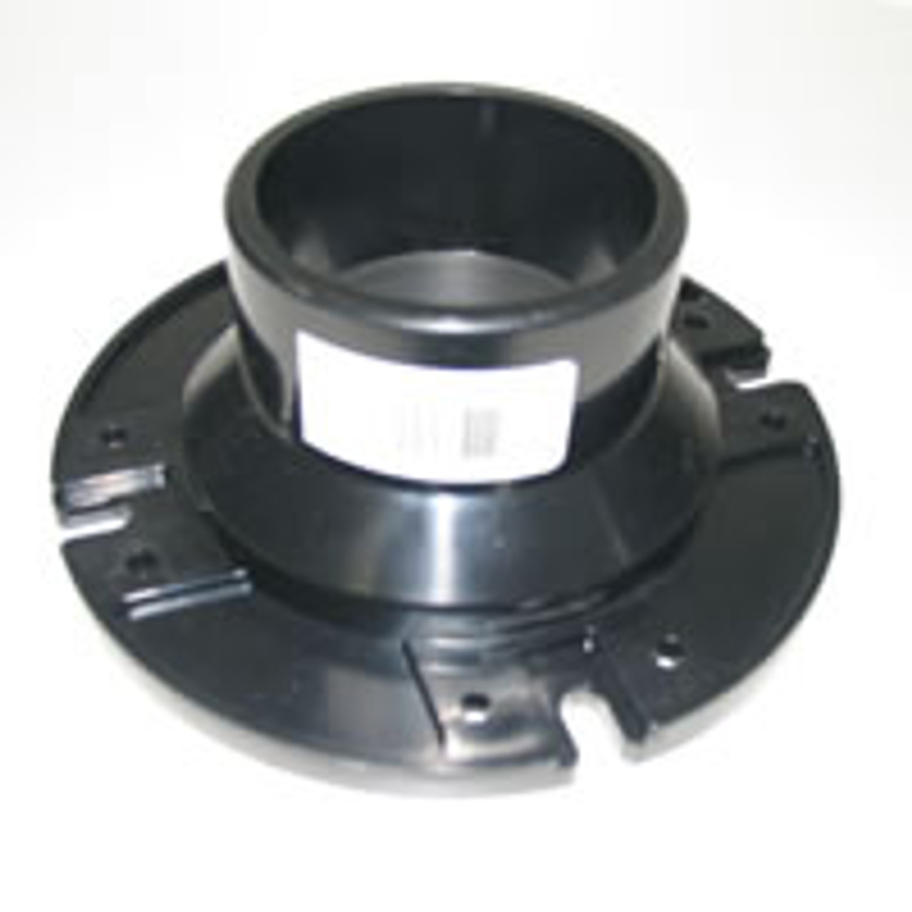 "Toilet mounting floor flange.  (3"" PVC fitting slip over)"