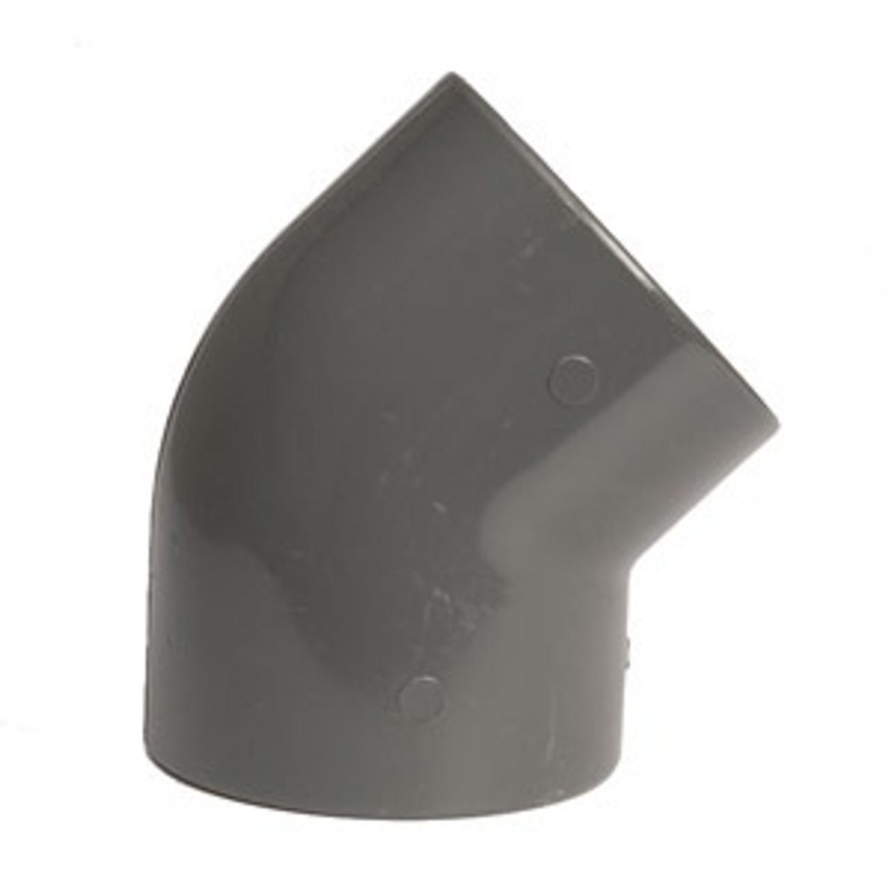 +GF+ | Elbow 45 PVC-U  40mm (721150109)