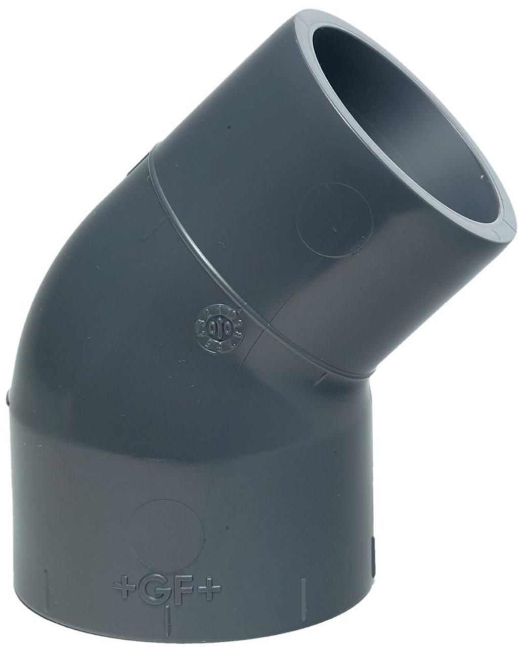 +GF+   Street Elbow 45  PVC-U 20mm (721150306)