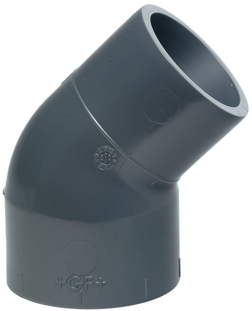 +GF+ | Street Elbow 45  PVC-U 40mm (721150309)