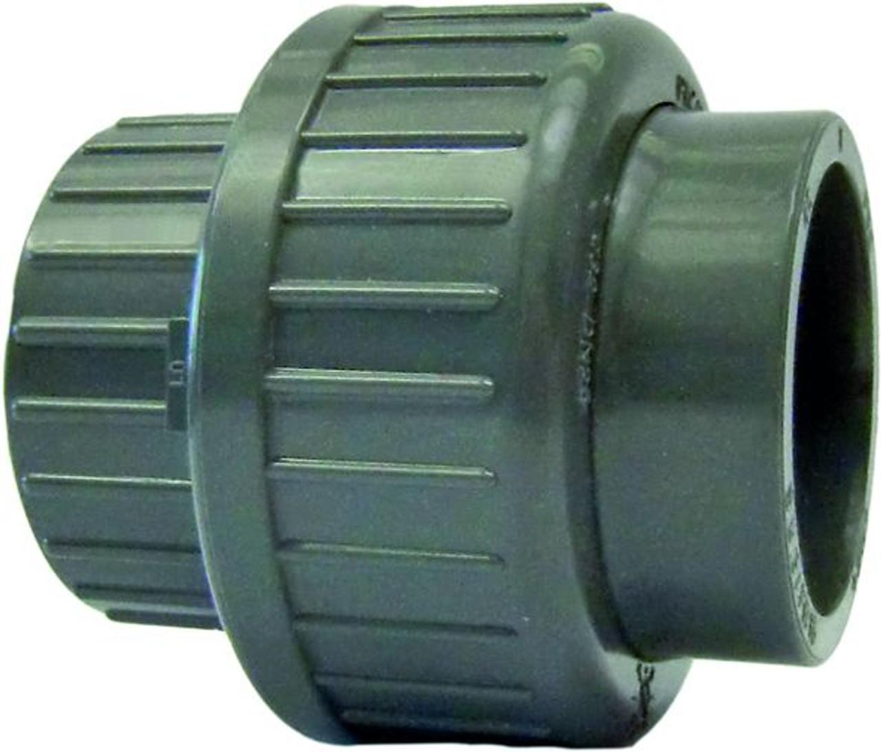 "+GF+ | Union SxS PVC-U/EPDM  40mm-A11/4"" (721514109)"