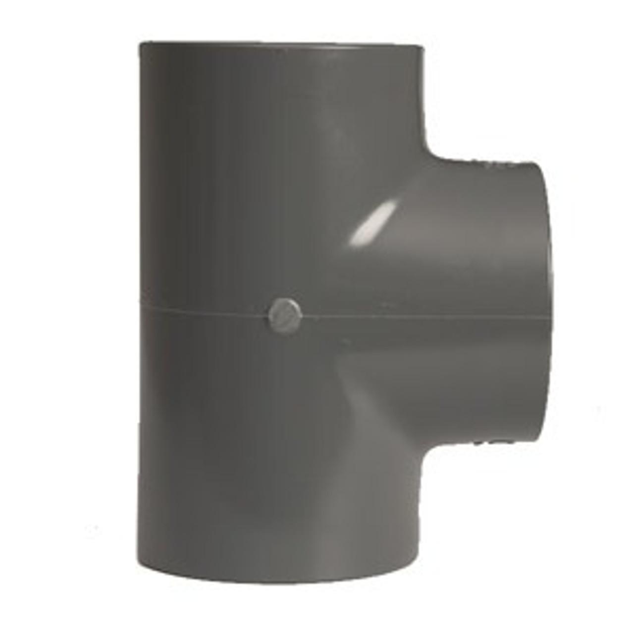 +GF+ | Tee 90 Equal PVC-U  75mm (721200112)