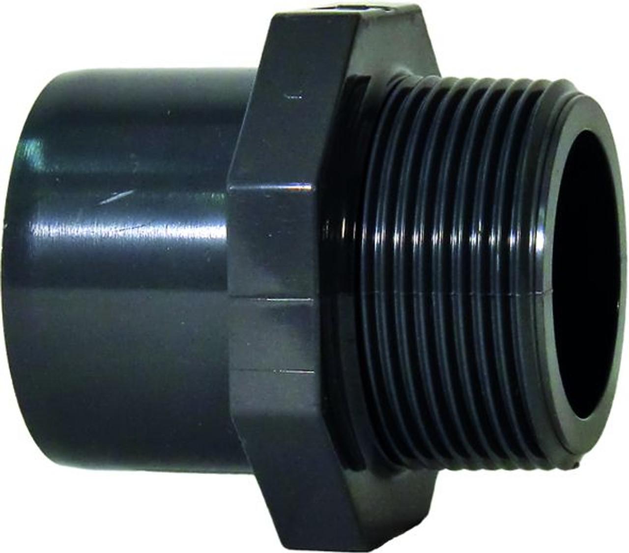 "+GF+ | Male Thread Adapter PVC-U 25mm x R1"" (721910558)"
