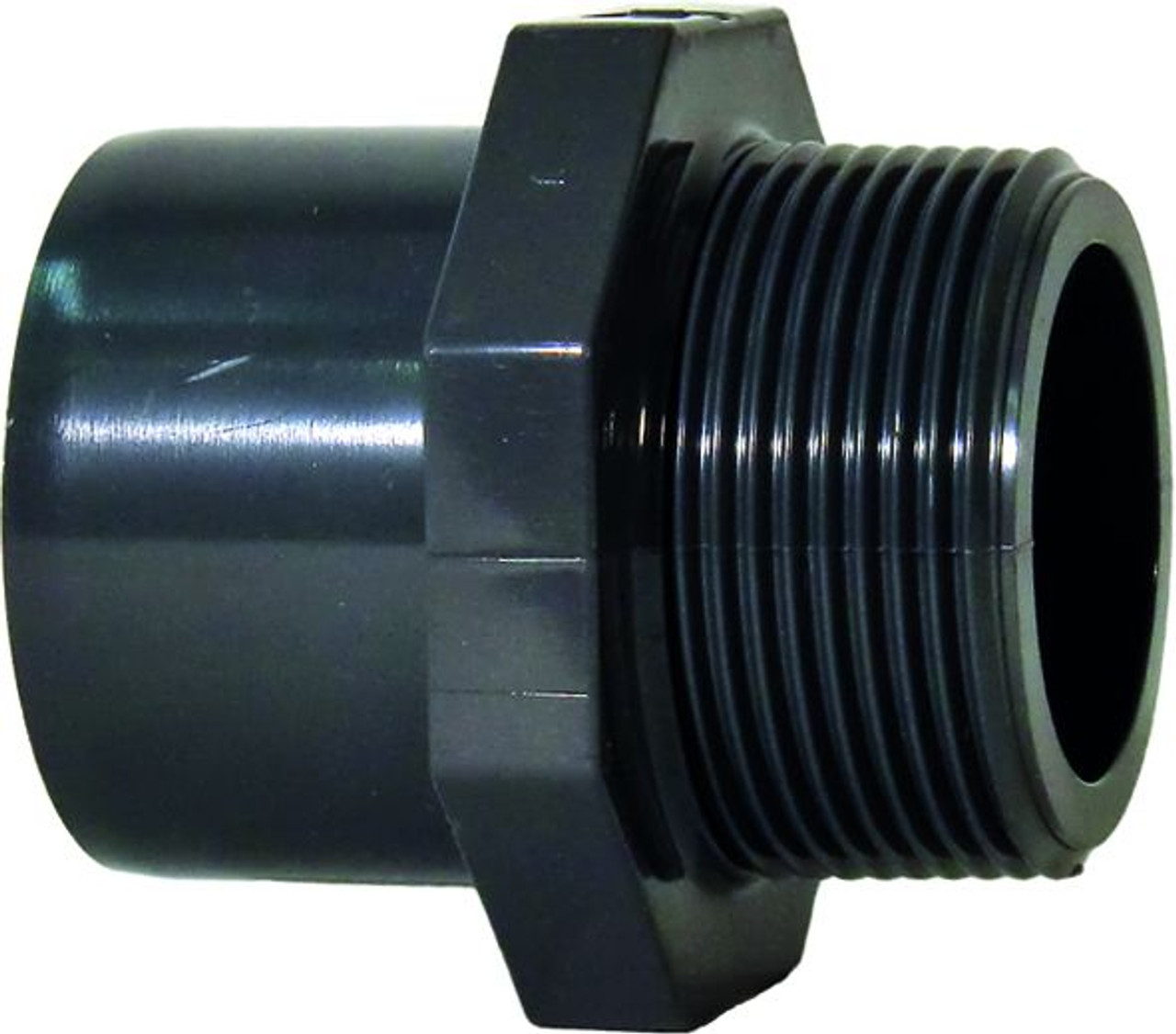 "+GF+ | Male Thread Adapter PVC-U 50mm x R2"" (721910561)"