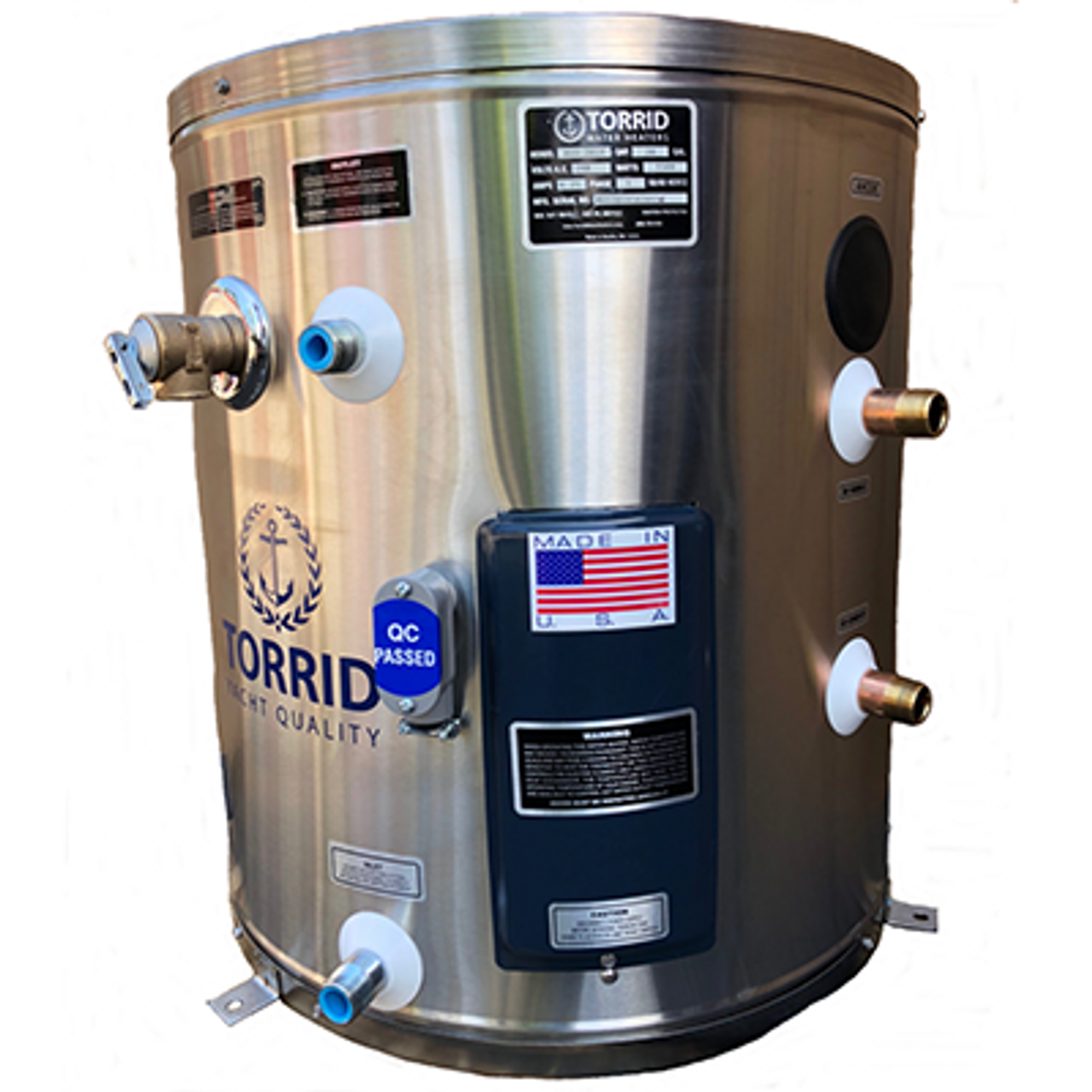 MVS 20 IX Marine Water Heater 120V 1500W