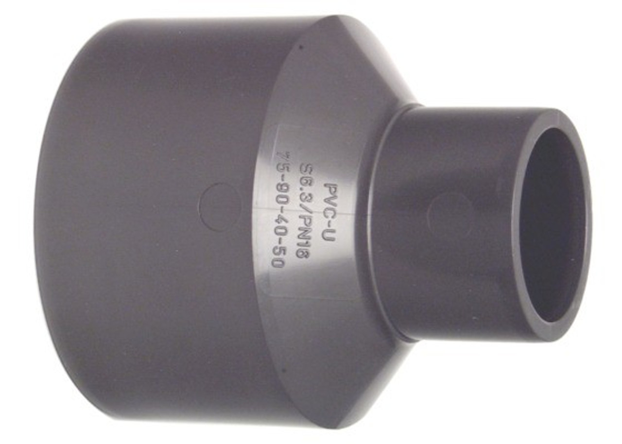 +GF+ | PRO-FIT Reducing Bushes PVC-U PN16 40+50-32+40   (721910920)