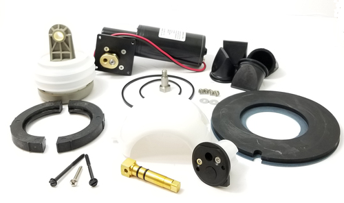 MAJOR VACUUM J PUMP AND TOILET REBUILD KIT 12 VOLT, BLACK CARTRIDGE (KEJ012)