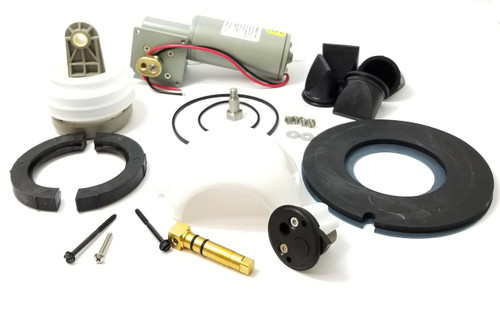 MAJOR VACUUM J PUMP AND TOILET REBUILD KIT 24 VOLT, BLACK CARTRIDGE (KEJ024)