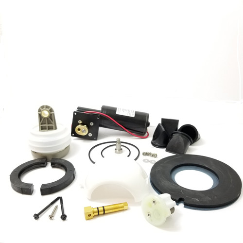 MAJOR VACUUM J PUMP AND TOILET REBUILD KIT 12 VOLT, WHITE CARTRIDGE (KRJ012)