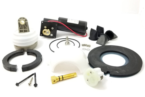 MAJOR VACUUM PUMP AND TOILET REBUILD KIT 12 VOLT, WHITE CARTRIDGE (KRS012)