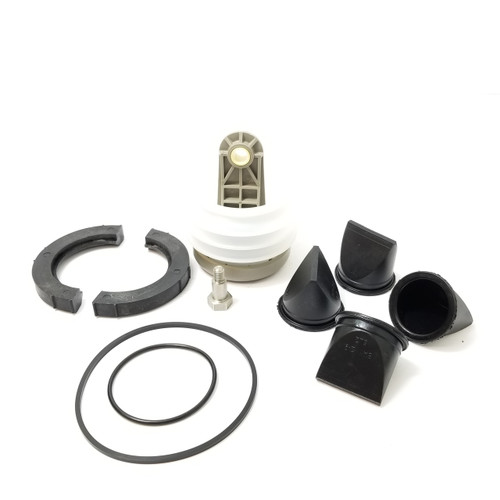 J SERIES VACUUM PUMP REBUILD KIT W/CLAMPS - KS000JC