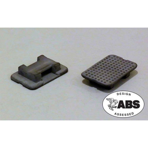 (805900B) Large Black Tie Mount - pack of 10