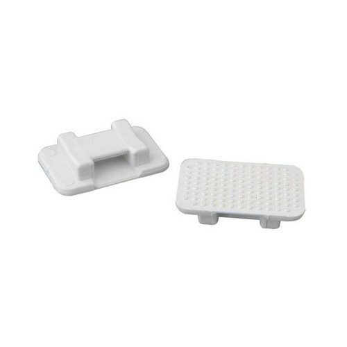 (805900) Large White Tie Mount - pack of 10