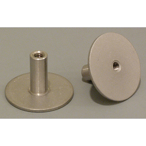 "(14201230425) stainless standoff 1.25"" base .25 X 20 thread, .75"" tall"