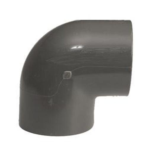 +GF+ | Elbow 90 PVC-U  75mm (721100112)