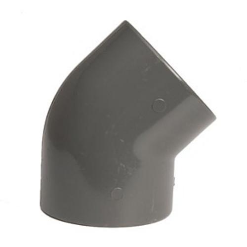 +GF+ | Elbow 45 PVC-U  75mm (721150112)