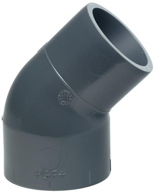 +GF+ | Street Elbow 45  PVC-U 20mm (721150306)
