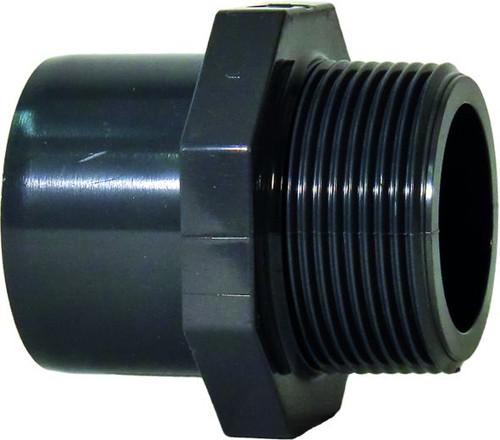 "+GF+ | Male Thread Adapter PVC-U 40mm x R11/2"" (721910560)"