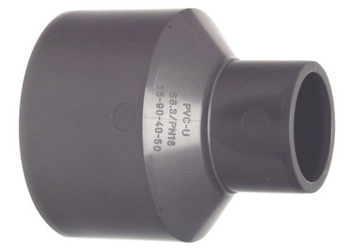 +GF+ | PRO-FIT Reducing Bushes PVC-U PN16 50+63-40+50   (721910923)