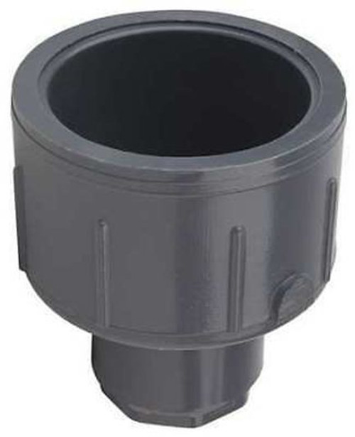 "+GF+ | 1-1/2"" x 1/2"" Reducing Coupling (SxS) - Bushed  [829-209FB]"