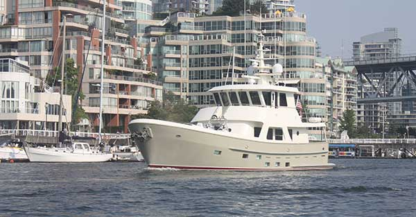 Yachts around the world for Sanitation Products