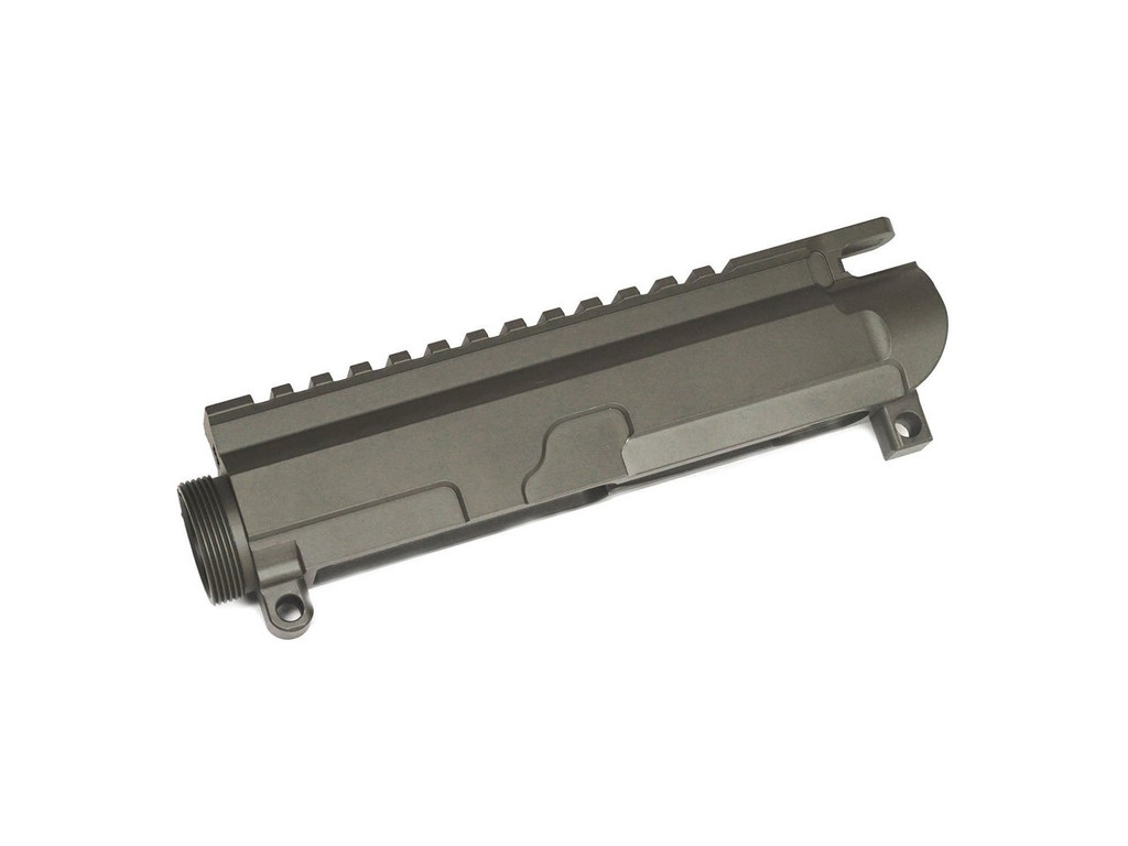 OD Green Cerakoted Billet AR-15 Upper Receiver with Forward Assist and Dust Cover