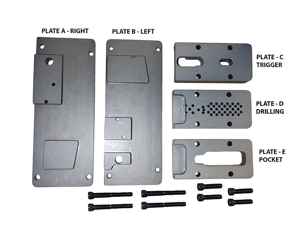 Replacement Parts for Universal Drill Press 80% AR-15 Jig