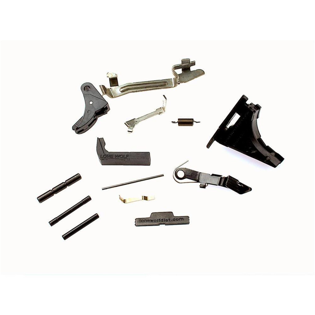 LONE WOLF Poly80 Spectre Compact Completion Kit-9mm