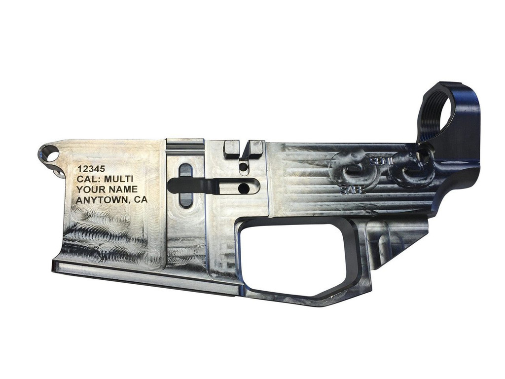 CA Compliant Serial Number Engraving for 100% Lowers Mailed to Us