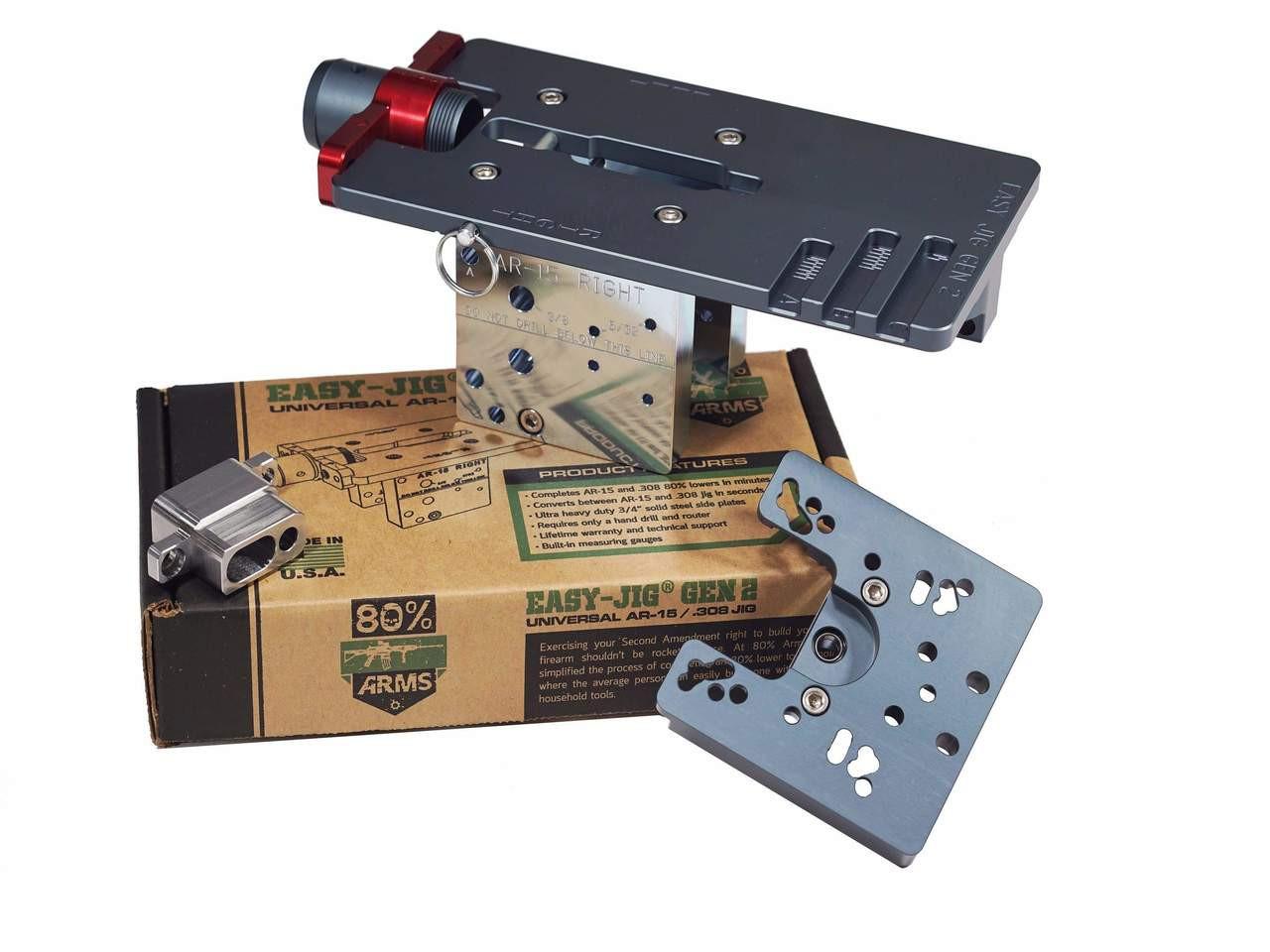 Easy Jig Gen 2 Multi-Platform - AR-15 and  308 80% Lower Jig