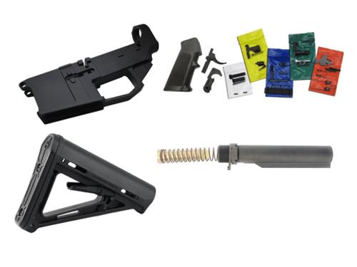 AR-15 Lower Receiver Kit | Complete AR Lower Kit