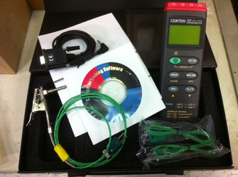 CENTER 309 - Thermometer (K Type, 4 Inputs, Datalogger)