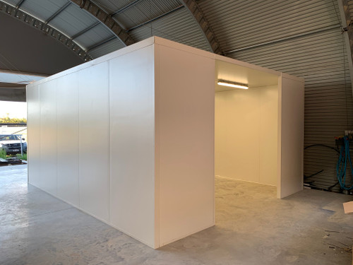 Cool Room Booth Enclosure