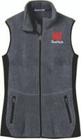 TireHub R-Tek Pro Fleece Full-Zip Ladies Vest
