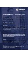 TireHub Values Set - Mission/Vision 24x36