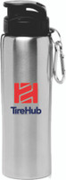 TireHub 27 oz. Sicilia Stainless Steel Sports Water