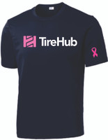 Tire Hub Breast Cancer Support Competitor Performance Tee - Assorted Colors