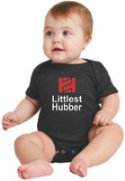 "Tire Hub ""Littlest Hubber"" Short Sleeve Onzie"