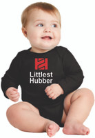 "Tire Hub ""Littlest Hubber"" Long Sleeve Onzie"
