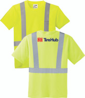 TireHub ANSI 107 Class 2 Safety T-Shirt