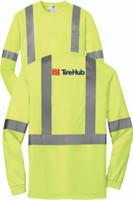 TireHub ANSI 107 Class 2 Safety Long Sleeve T-Shirt