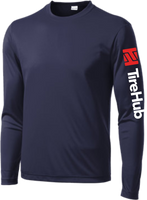 TireHub PosiCharge Competitor Performance Long Sleeve TALL SIZES Tee - Assorted Colors
