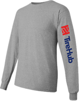 TireHub Cotton Long Sleeve Tee Shirt - Assorted Colors
