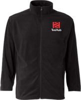 Clearance Microfleece Full-Zip Jacket - Black