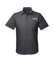 TireHub Spyder Men's Stryke Woven Short-Sleeve Shirt