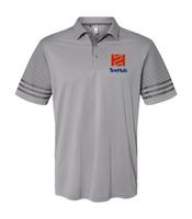 TireHub Adidas - Striped Sleeve Sport Shirt