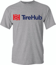 TireHub Heavy Cotton Tee Shirt TALL SIZES - Assorted Colors
